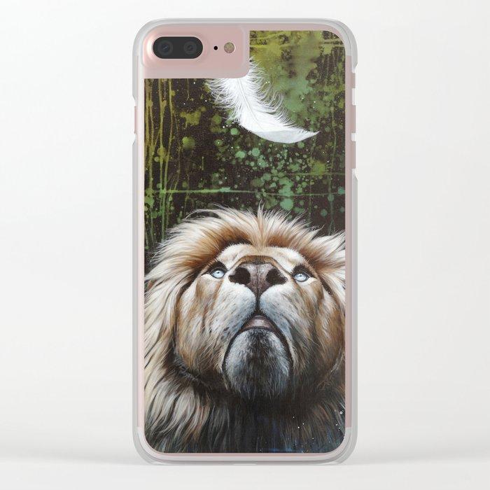 légèreté Clear iPhone Case