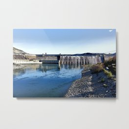 Grand Coulee Dam Metal Print