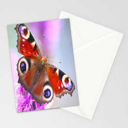 Beautiful Peacock Butterfly Stationery Cards