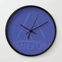 Transform Wall Clock