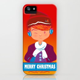 "Mikel AlfsToys say: ""Merry Christmas""  iPhone Case"