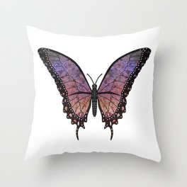 orchid dancer (Danseur orchidia) Throw Pillow