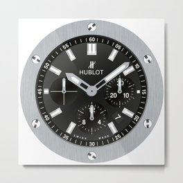 Hublot Big Bang - Steel - 301.SX.1170.RX Metal Print