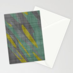Yellow Gray and Green Stationery Cards