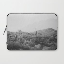 Wild West II - Black & White Version Laptop Sleeve