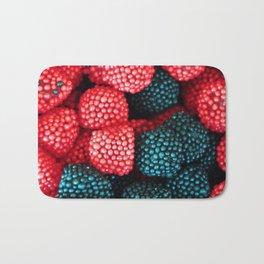 Raspberry and Black Berry Candy Bath Mat