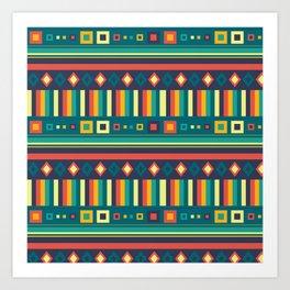 BP 67 Tribal Art Print