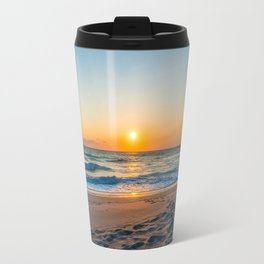 Canaveral National Seashore Sunrise Travel Mug