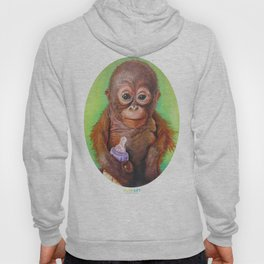 Budi the Rescued Baby Orangutan Hoody