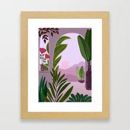 Tropical Morning Framed Art Print