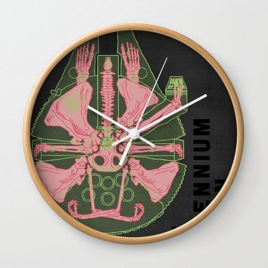 Spaceship Skeletal Survey: The Millennium Falcon Wall Clock