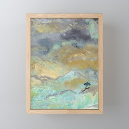 Silver Linings Framed Mini Art Print