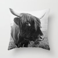 tigger Throw Pillows featuring Dear Tigger by zzzeus