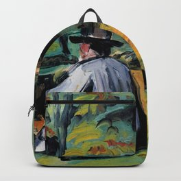 """Paul Cézanne """"A Painter at Work"""" Backpack"""