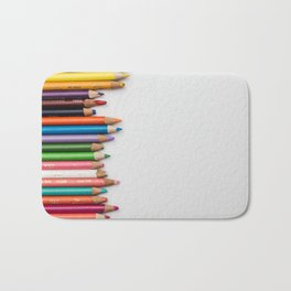 Colored pencil 10 Bath Mat