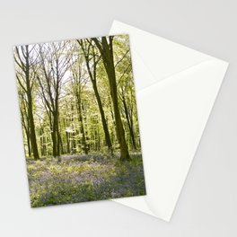 Bluebells of Micheldever Wood Stationery Cards
