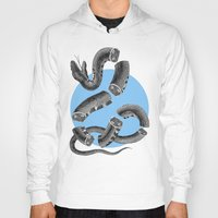 snake Hoodies featuring Snake by DIVIDUS