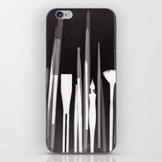 Paintbrush Photogram iPhone & iPod Skin