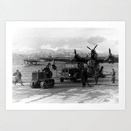 Blohm&Voss BV 138 Art Print