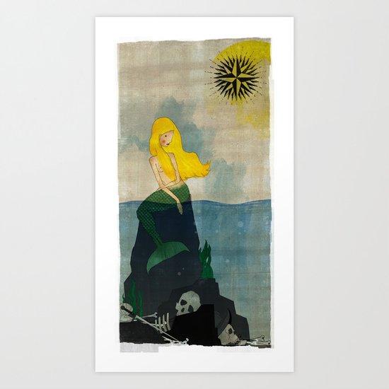 Sirena Art Print
