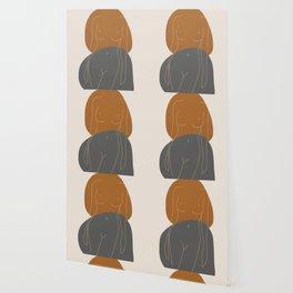 Line Female Figure 81 Wallpaper