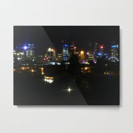 City Lights from West End Metal Print