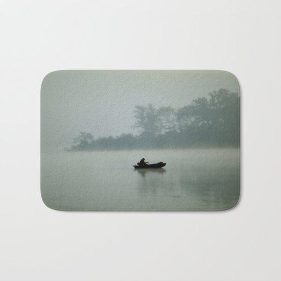 Gone Fishing Bath Mat