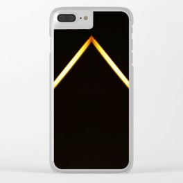 Pyramid of Light Clear iPhone Case