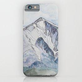 Spring  on Mount Sopris iPhone Case
