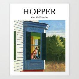 Hopper - Cape Cod Morning Art Print
