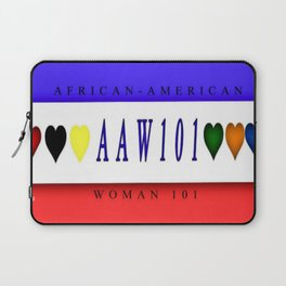 AAW101(African-America Woman 101) Laptop Sleeve