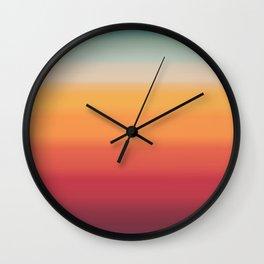 Sunset Shades Wall Clock