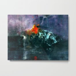 Waiting for Deckard Metal Print