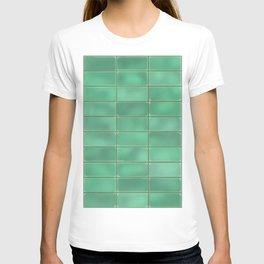 Cyan Tiles T-shirt