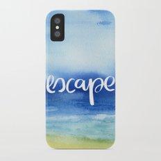 Escape [Collaboration with Jacqueline Maldonado] Slim Case iPhone X