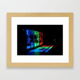 pick a door Framed Art Print