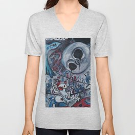 Disappearance of the sky Unisex V-Neck
