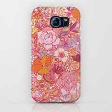 Detailed summer floral pattern Galaxy S6 Slim Case