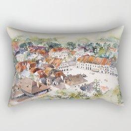 Old Marketplace in Kazimierz Dolny | Poland Rectangular Pillow