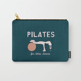 Pilates for Wine Lovers Carry-All Pouch