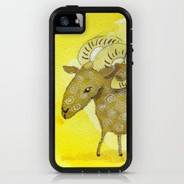 Aries Zodiac Horoscope Painting iPhone Case