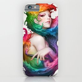Angel of Colors iPhone Case