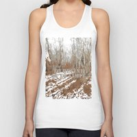 sayings Tank Tops featuring Oscar Wilde #6 To define is to limit by bravo la fourmi