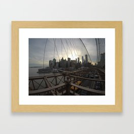 Right to the Point Framed Art Print