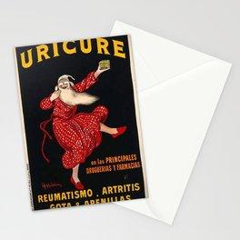 Vintage poster - Uricure Stationery Cards
