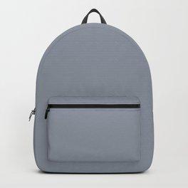 Vintage New England Shaker Village Dark Slate Grey Milk Paint Backpack