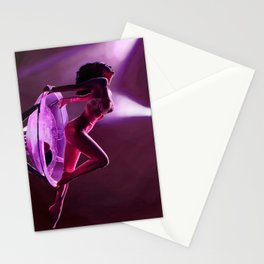 Midnight dancer Stationery Cards
