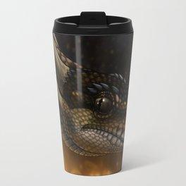 Emperor - Ball Python Dragon Art Travel Mug