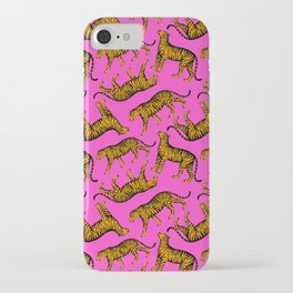 Tigers (Magenta and Marigold) iPhone Case