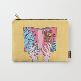 Read woman read Carry-All Pouch
